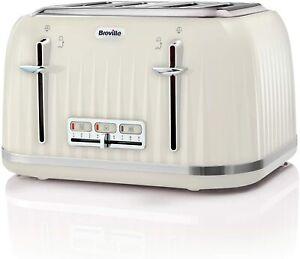 4 Slice Toaster Cream Jan Sale Cheap Gift Breville VTT702 Impressions Buy Deal