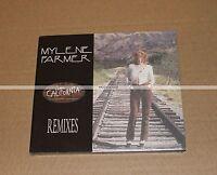 MYLENE FARMER - CALIFORNIA REMIXES - CD MAXI DIGIPACK - NEUF COLLECTOR