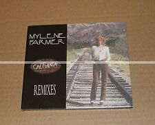 MYLENE FARMER - CALIFORNIA REMIXES - CD MAXI DIGIPACK - NEUF COLLECTOR