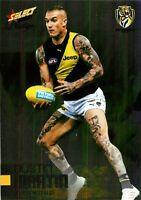 ✺New✺ 2020 RICHMOND TIGERS AFL Premiers Card DUSTIN MARTIN Footy Stars Prestige