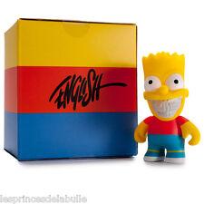 "The Simpsons Grin - Bart Simpson 3"" Figure Figurine 8cm - Ron English x Kidrobot"