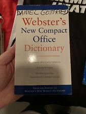 Webster's New World Compact Office Dictionary by Michael E. Agnes (2005,...