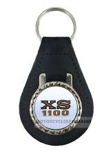YAMAHA XS 1100 XS 1.1 leather  keyring keychain keyfob