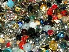 New listing New 100 Jesse James Assorted Metal spacers & Crystal Beads lot Jewelry supplies