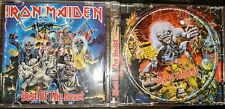 Iron Maiden Best Of The Beast First US Press CD With Rare Track Virus
