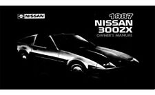 1987 Nissan 300ZX Owners Manual User Guide