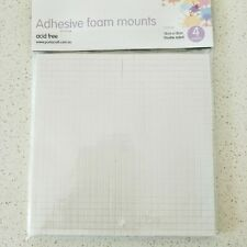 4 Sheets Double Sided Adhesive Foam Mounts 15 X 15 CM