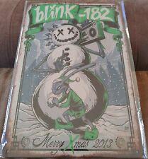 Blink 182 Metal Poster