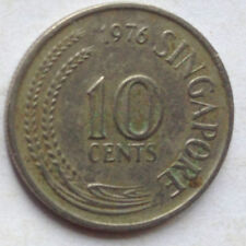 Singapore 1st Series 10 cents 1976 coin