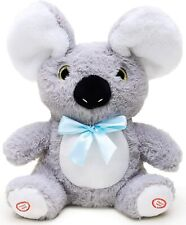 Peekaboo Talking Singing Moving Soft Plush Koala Toy Cute Teddy Kids Baby