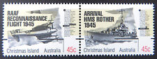 1995 Christmas Island Stamps - 50th Anniversary of End of WWII - Set of 2 MNH