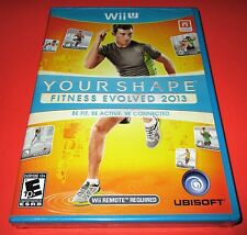 Your Shape: Fitness Evolved 2013 Nintendo Wii U * FACTORY SEALED! * Kostenloser Versand!