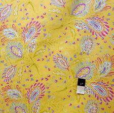 Dena Designs F008 Sunshine Heather Yellow Linen Fabric By Yard