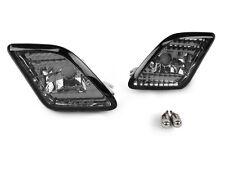 DEPO 2010-12 Mercedes W221 S Class Smoke Bumper Side Marker Light + Chrome Bulb