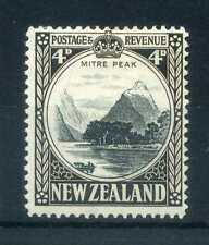 New Zealand 1936 KGVI  4d perf 14 SG 583c mint