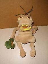 Disney A Bug's Life PLUSH Bean Bag P.T. Flea Stuffed Toy 9 IN EXCELLENT