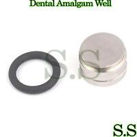 2 Dental Amalgam Well Non-Slip Surgical Instruments