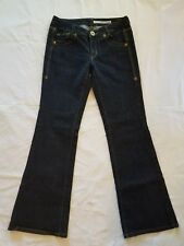 DKNY Women's Time Square Flare Jeans Size 9 Dark Wash