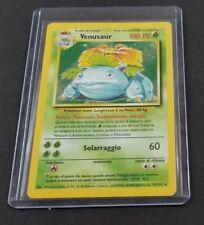 Italian Pokemon Venusaur 15/102 Base Set Card