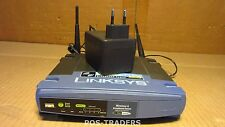 Linksys wrt54g Wireless-G Broadband Router IEEE 802.3/3u, IEEE 802.11b/g Inc PSU