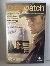 DOGWATCH ~ JOEL EDGERTON, STEVEN VIDLER & JOHN BRUMPTON ~ RARE PAL VHS VIDEO
