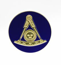 AF&AM Past Master Without Square Masonic Car Bumper Sticker