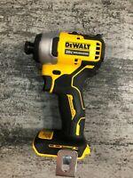 "NEW DEWALT DCF809 ATOMIC 20V 20 Volt MAX Li-Ion 1/4"" Brushless Impact Driver"