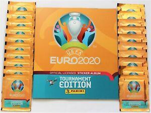 Panini EURO 2020 Tournament Edition - Leeralbum Softcover + 20 Tüten NEU