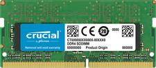 Crucial 16gb (1x 16gb) Ddr4 2666mhz SODIMM Notebook Memory