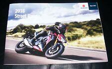 Suzuki Street Brochure 2016 inc GSX-S1000/A GSR750/A Bandit 1250S GSX1250FA