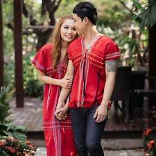 KAREN LOVERS MAN WOMAN COUPLE CLOTHES COTTON FREE SIZE THAILAND