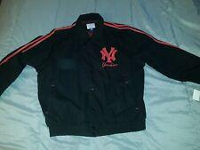 New York Yankees MENS 3XL Jacket Black/Red Rare Sample New With Tags NY Baseball