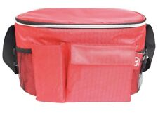 Alpha Armur Adult Lunch Box Up To 12 Can Insulated Lunch Bag for Men & Women Red