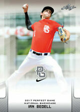 """IAN BEDELL 2017 LEAF """"1ST EVER PRINTED"""" PERFECT GAME ROOKIE CARD!"""