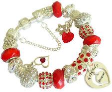 Ruby Charm Bracelets