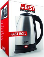 Best Electric Tea Kettle Stainless Steel Version 2.0 Auto Shutoff - NEW IN BOX