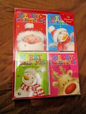 14 x CHILDS CUTE CHRISTMAS CARDS PRIMARY SCHOOL CLASS XMAS CARDS AGE 5 6 7 8 9 Y