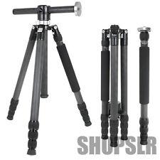 Horusbennu VH-2845TTX Vertical Professional Carbon Tripod Traveller Canon Nikon