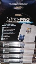 Ultra Pro - Lot of 500 Pages of 9 Pockets Binder Sheets Platinum Series 5 Boxes