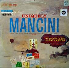 HENRY MANCINI - UNIQUELY MANCINI - RCA LP - GERMAN PRESSING - LIVING STEREO