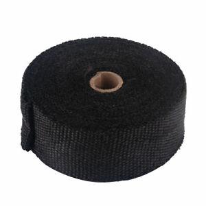 Neu 20M Wärmeisolierband Rohrisolierung Krümmer Hitzeschutz Hitzeschutzband