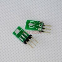 5pcs Double-Side SMD SOT223 SOT89 to DIP SIP3 Adapter PCB Board Converter E43