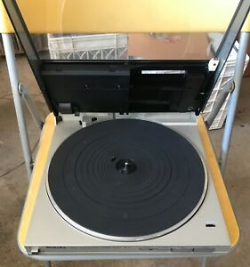 TECHNICS SL-5 DIRECT DRIVE LINEAR TRACKING TURNTABLE  NICE! Good condition