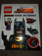 LEGO DC UNIVERSE SUPER HEROES BATMAN VISUAL DICTIONARY & EXCLUSIVE MINIFIGURE