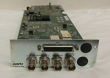 Evertz 7702 module 7780DLY-ASI	Delay Systems  Video / Audio ASI Delay