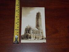 POSTCARD VINTAGE OLD RARE PHOTO RIVERSIDE CHURCH NEW YORK SEIDMAN
