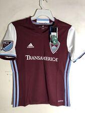 Adidas Youth MLS Jersey Colorado Rapids Team Burgundy sz XL
