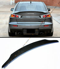 FOR 2008-2017 LANCER EVO X 10 MR GSR JDM DUCKBILL STYLE TRUNK LID SPOILER WING