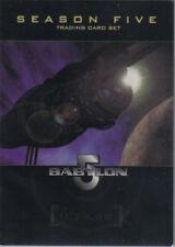 BABYLON 5 SEASON 5  PROMO CARD : THE SAGA CONTINUES