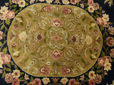6'x9' New 300 KPSI Plush wool French Savonnerie Hand made Oriental rug Carpet